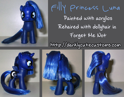 Filly Princess Luna by Kanamai