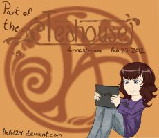 Teahouse Livestream watching! by hellel24