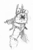Pencil Bezerker by DarkMechanic