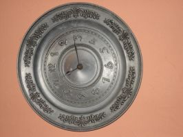 Metal Clock by MadamGrief-Stock