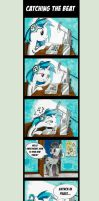 Comic - Catching the Beat by Helmie-D