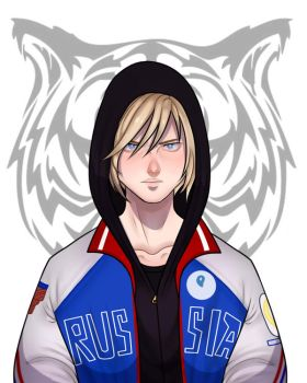 Yuri on Ice: Yuri Plisetski by SatiricalKat