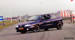 Renault Megane Coupe by compaan-art