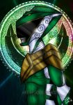 Whimsical Mmpr Green ranger by blueliberty