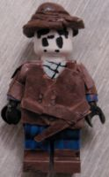 Lego Rorschach by IcarusMach9