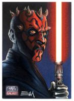 Darth Maul - Galaxy 7 Artist Proof by Erik-Maell