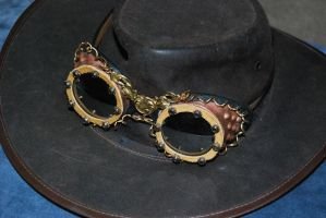 Steampunk Goggles by T-Bore