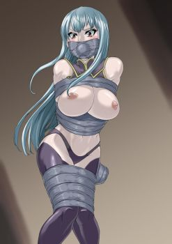 Selvaria tape bodage and gagged by watapy0503
