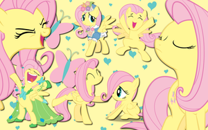 Fluttershy wallpaper 8 by AliceHumanSacrifice0