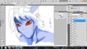 Bull .:progres:. by Roodiee