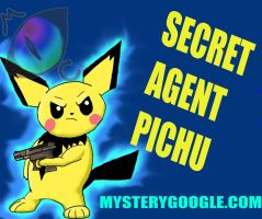 Secret Agent Pichu by maelthra-chath
