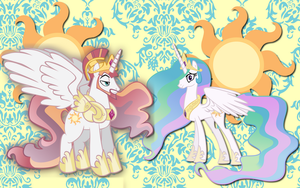 Solaris and Celestia WP by AliceHumanSacrifice0