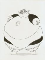 COM Obese Roll by Robot001