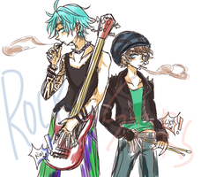 ROCK STARS by beartachi