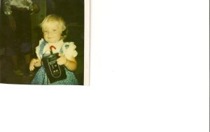 me with my first radio XD by JesusFreak-4Ever