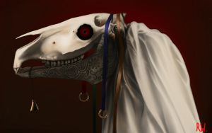 Mari Lwyd by Rhyn-Art