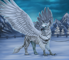 Ice queen by Conall22