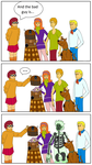 Scooby Doo and Doctor Who by Doghcat