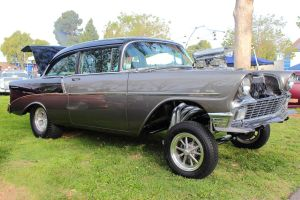 56 Chevy Gasser by DrivenByChaos