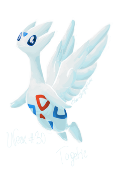 Top 50 Challenge - Week #30: Togetic by SilverStrangequark
