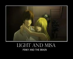 Misa and Light by kilra03