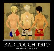 APH-Bad Touch Trio by APLHMexicanAwesome