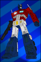 Optimus Prime colours by Josh-van-Reyk