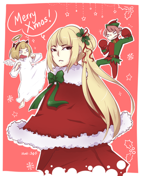 fa: Merry Girls of the Wilds Xmas!! by 7-8jf