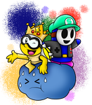 AT with MarioSimpson1: Super Lakitu and Slavko by SuperLakitu