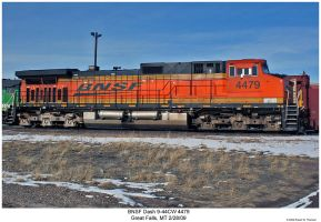 BNSF 4479 in H3 Paint by hunter1828
