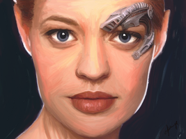 Seven of Nine by 1CyberNinja1