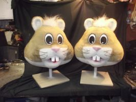 Hamster Heads Fursuit by AtalontheDeer