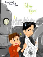 Iron Giant: father figure by Kaede-chama
