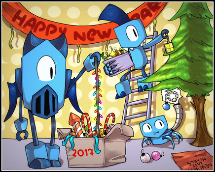 [ PREPARE FOR THE NEW YEAR ] by BlueMoshka