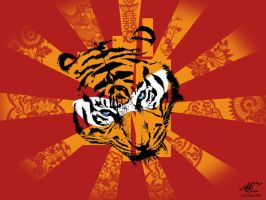 Tiger Funkeh Go by artemiscrow