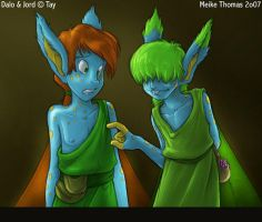 Dalo and Jord by mct421