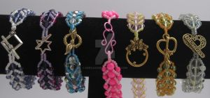 Mane 6 My Little Pony Bracelets Clasp View by keesadore