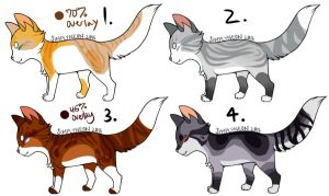 Cat Adopts :OPEN: by liracal