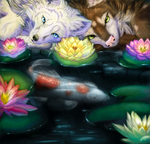 Collab - Water Lillies - COlor by Swagtail