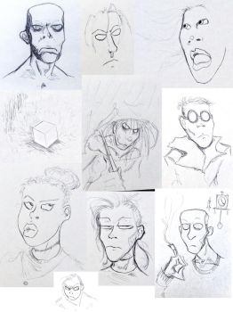 Sketchdump 08 by EnzymeDevice