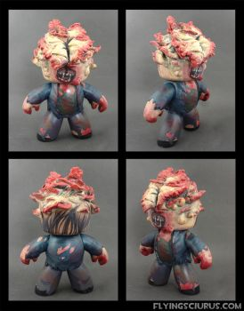 Last of Us Clicker custom Mighty Mugg by FlyingSciurus