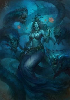 Naga queen by SARYTH