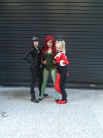Gotham City Sirens by Jerri-Kay