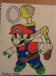Mario by BunnyWithLasers