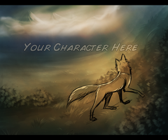 Misty Mountains - Your Character Here by InstantCoyote