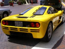 McLaren F1 Monterey rear view by Partywave