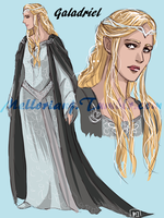 The White Council : Galadriel by MellorianJ