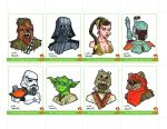 Sketchcards Set 02 Colour by dino-damage