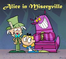 Alice in Miseryville by Plushpenguin