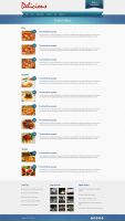 Delicious - Products Menu by m-themes